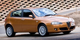 alfa romeo 147 2.0 5-door distinctive