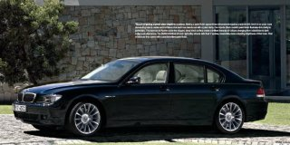 bmw 740i extended individual steptronic