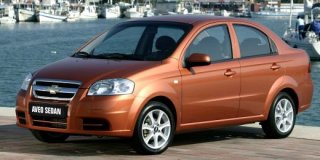 chevrolet aveo 1.5 ls 4-door (t250)
