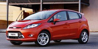 ford fiesta 2010 1.6 ambiente 5-door powershift at