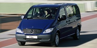 mercedes vito 115 cdi crew bus at