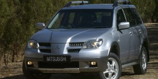 mitsubishi outlander 2.4 gls at