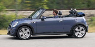 mini cooper s convertible at
