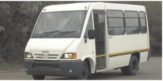 tata bus 18-seater