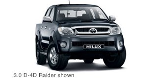 toyota hilux 4.0 v6 d/cab r/body raider heritage at