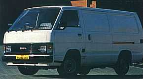 toyota hi-ace 2200 panelvan
