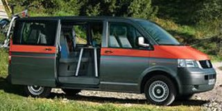 volkswagen t5 beach 2.5 tdi 4motion